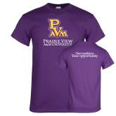 Purple T Shirt-PVAM Stacked