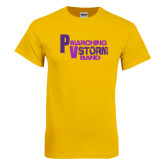 Gold T Shirt-PV Marching Storm Band