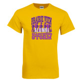 Gold T Shirt-Praire View marching Storm w/ Majors