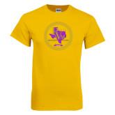 Gold T Shirt-PVAM Marching Band Seal
