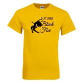 Gold T Shirt-Future Black Fox