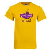 Gold T Shirt-Twirling Thunder Alumni