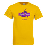 Gold T Shirt-Twirling Thunder Dad