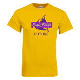 Gold T Shirt-Future Twirling Thunder