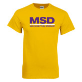 Gold T Shirt-MSD