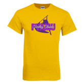 Gold T Shirt-PVAMU Twirling Thunder Logo