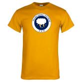 Gold T Shirt-Marching Storm Cloud Circle - Fan