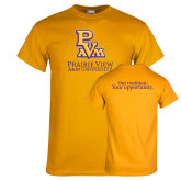 Gold T Shirt-PVAM Stacked