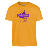 Youth Gold T Shirt-Future Twirling Thunder