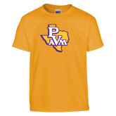 Youth Gold T Shirt-PVAM Texas