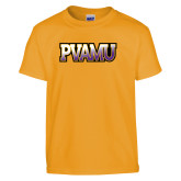 Youth Gold T Shirt-PVAMU
