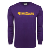 Purple Long Sleeve T Shirt-#StormMacys