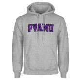 Grey Fleece Hood-Arched PVAMU
