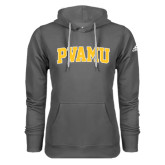 Adidas Climawarm Charcoal Team Issue Hoodie-Arched PVAMU