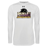 Under Armour White Long Sleeve Tech Tee-Athletic Directors Club
