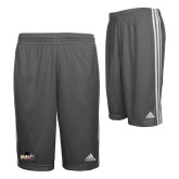 Adidas Climalite Charcoal Practice Short-Official Logo