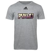 Adidas Sport Grey Logo T Shirt-PVAMU