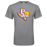Grey T Shirt-PVAM Texas