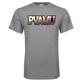 Grey T Shirt-PVAMU