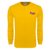 Gold Long Sleeve T Shirt-PV Marching Storm Band