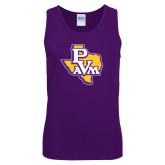 Purple Tank Top-PVAM Texas