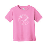 Toddler Pink T Shirt-Marching Storm Cloud Circle - Fan