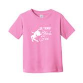 Toddler Pink T Shirt-Future Black Fox