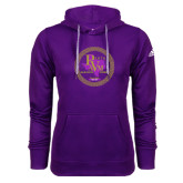 Adidas Climawarm Purple Team Issue Hoodie-PVAM Marching Band Seal