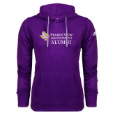 Adidas Climawarm Purple Team Issue Hoodie-Alumni