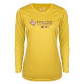 Ladies Syntrel Performance Gold Longsleeve Shirt-Mom