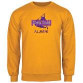 Gold Fleece Crew-Twirling Thunder Alumni