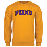 Gold Fleece Crew-Arched PVAMU