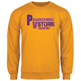 Gold Fleece Crew-PV Marching Storm Band