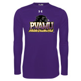 Under Armour Purple Long Sleeve Tech Tee-Athletic Directors Club