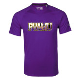Adidas Climalite Purple Ultimate Performance Tee-PVAMU