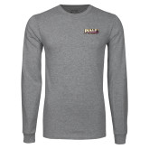 Grey Long Sleeve T Shirt-PVAMU