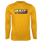 Syntrel Performance Gold Longsleeve Shirt-PVAMU