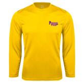 Performance Gold Longsleeve Shirt-PV Marching Storm Band