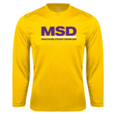 Syntrel Performance Gold Longsleeve Shirt-MSD