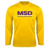 Performance Gold Longsleeve Shirt-MSD
