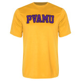 Syntrel Performance Gold Tee-Arched PVAMU