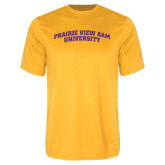 Syntrel Performance Gold Tee-Arched Prairie View A&M