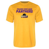 Performance Gold Tee-Stacked Prairie View A&M Panthers