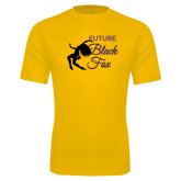 Syntrel Performance Gold Tee-Future Black Fox