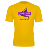 Performance Gold Tee-Twirling Thunder Alumni
