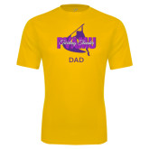 Performance Gold Tee-Twirling Thunder Dad