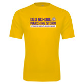 Performance Gold Tee-Old School w/ Cloud