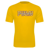 Syntrel Performance Gold Tee-PVAMU Twirling Thunder Overlap