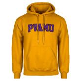 Gold Fleece Hood-Arched PVAMU