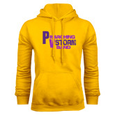 Gold Fleece Hoodie-PV Marching Storm Band